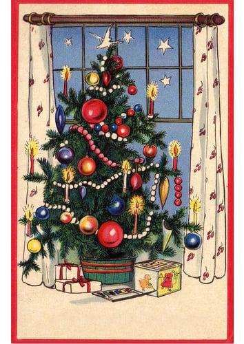 Imagen árbol de navidad con regalos