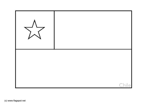 download a chilean flag coloring page or another version here
