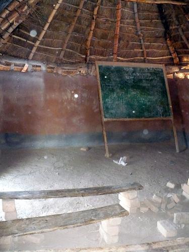 Foto colegio en Zambia