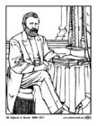 Dibujo para colorear 18 Ulysses S. Grant