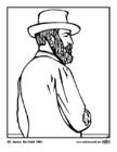 Dibujo para colorear 20 James Garfield