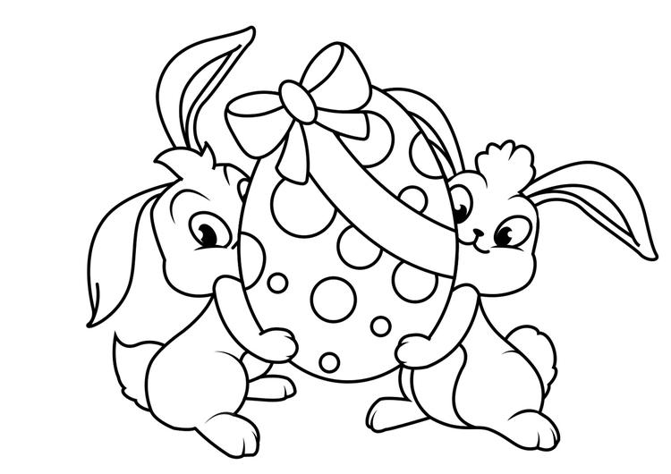 38 Dibujos De Conejo De Pascua Para Colorear 2020 Dibujos Para Imprimir Gratis