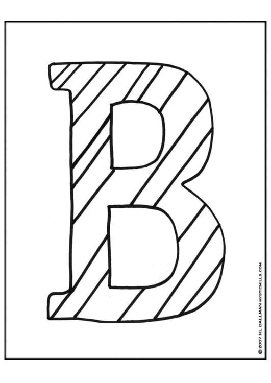 Dibujo para colorear ABC - Img 9251
