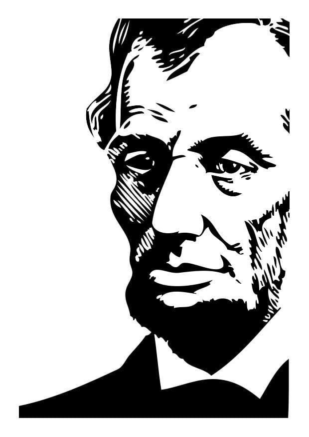 Dibujo Para Colorear Abraham Lincoln Img 26274 Images
