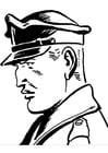 Dibujo para colorear Agente