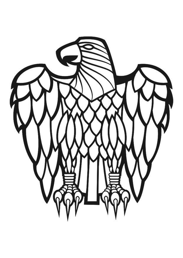 Dibujo Para Colorear Aguila Img 30729
