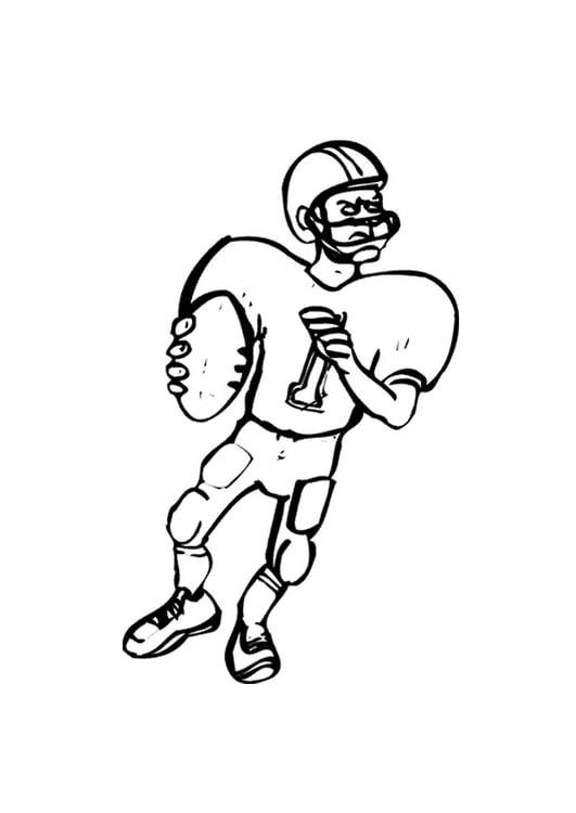 Dibujo Para Colorear American Football Img 9690 Images