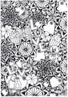 Dibujo para colorear amor