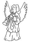 Dibujo para colorear Ángel
