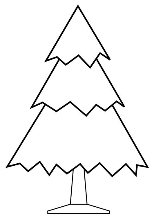 Dibujo para colorear rbol de navidad img 28168 for Arbol navideno para colorear