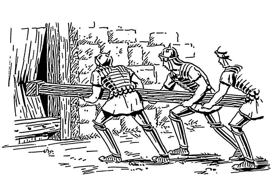 Kleurplaat Militair Dibujo Para Colorear Ariete Img 18836 Images