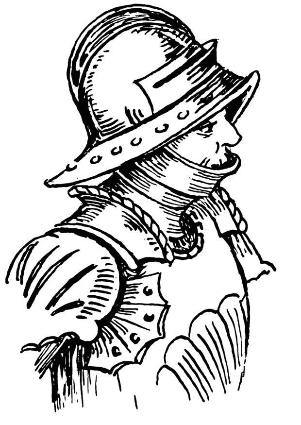 Dibujo para colorear armadura img 13223 - Dessin armure ...
