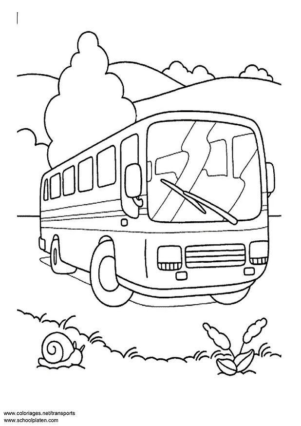 Dibujo Para Colorear Autobús Img 3089