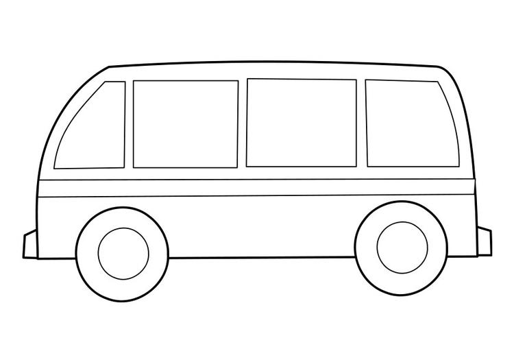 Dibujo Para Colorear Autob 250 S Img 22855