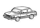 Dibujo para colorear Automóvil