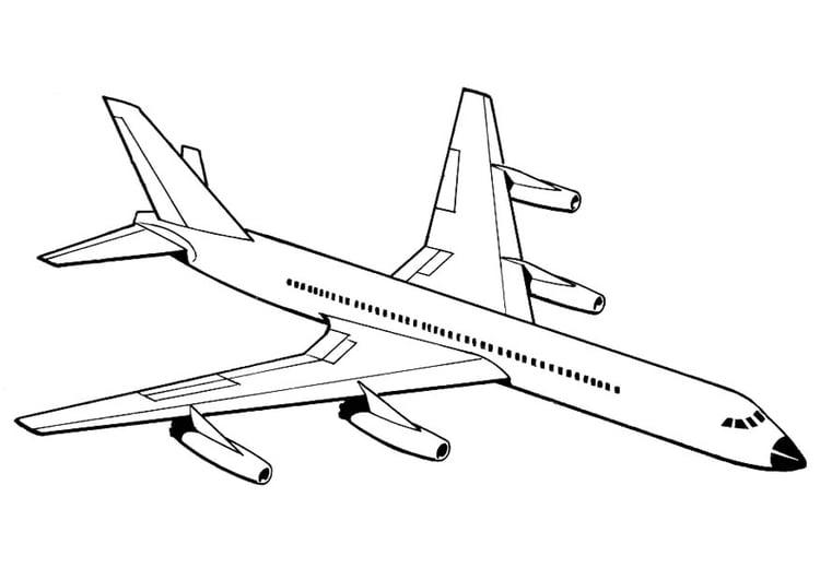 Dibujo Para Colorear Avión Img 18885