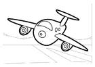 Dibujo para colorear Avión