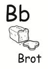 Dibujo para colorear b