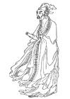 Dibujo para colorear Bai Juyi