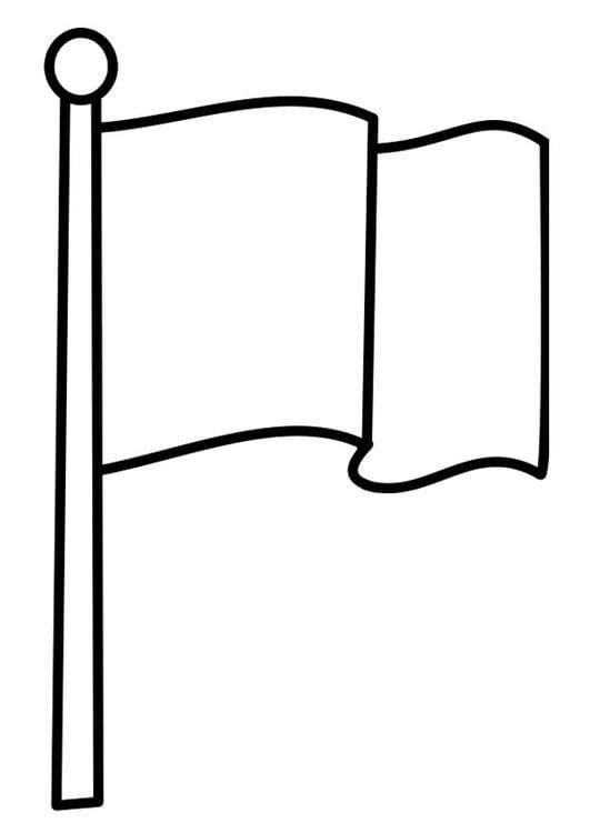 Dibujo Para Colorear Bandera Img 22478