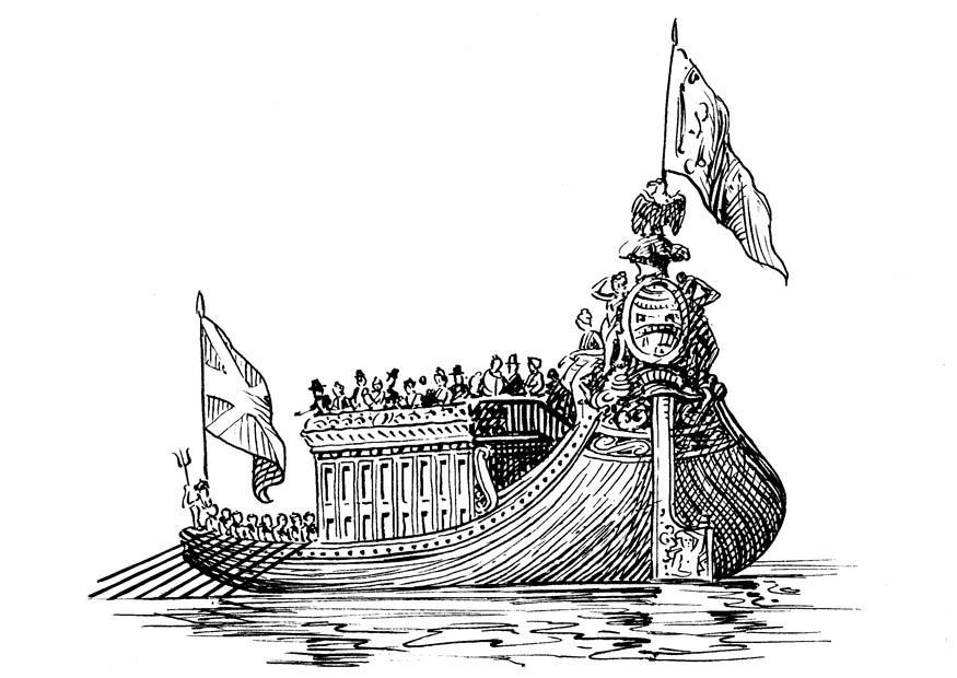 Viking Kleurplaat Dibujo Para Colorear Barco Img 18992