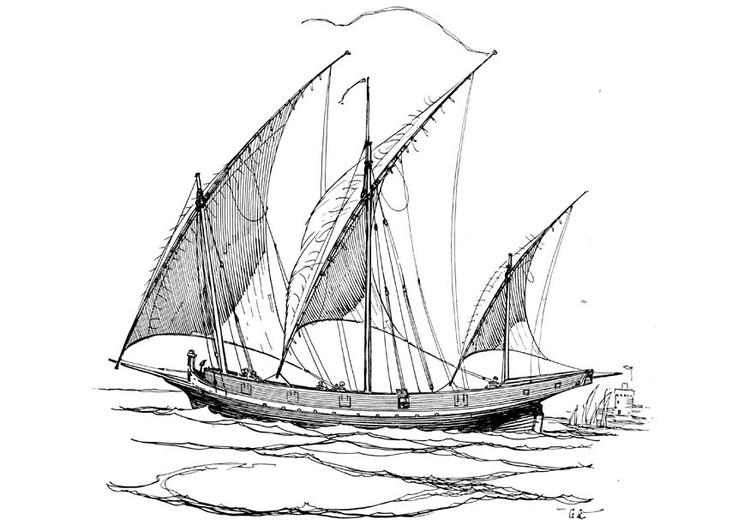 Dibujo Barco