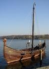 Foto Barco vikingo drakar