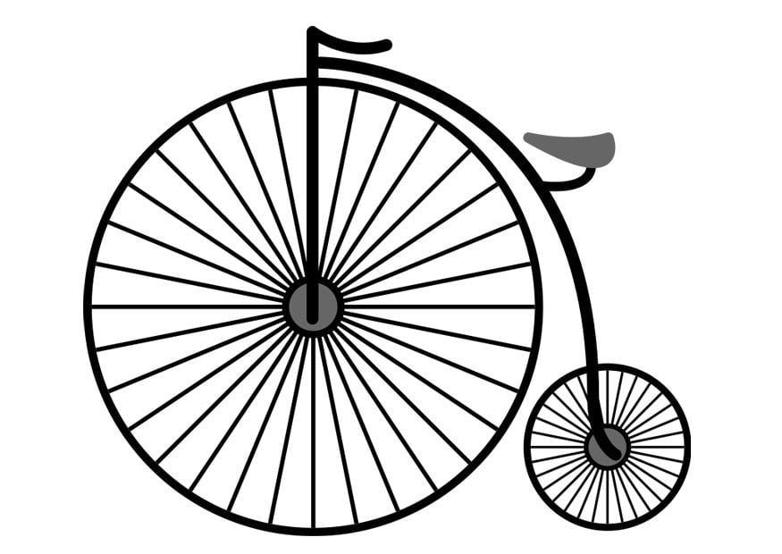 Dibujo Para Colorear Bicicleta Img 25717