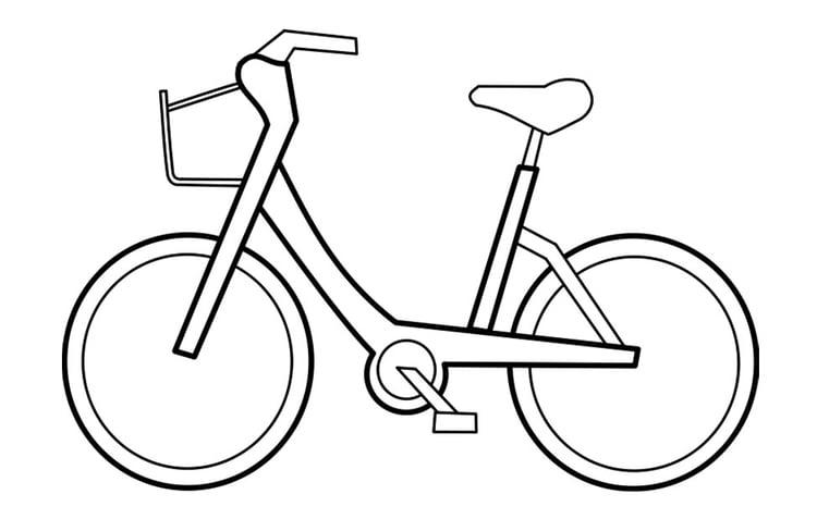 Dibujo Para Colorear Bicicleta Img 22721