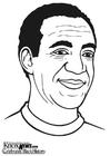Dibujo para colorear Bill Cosby