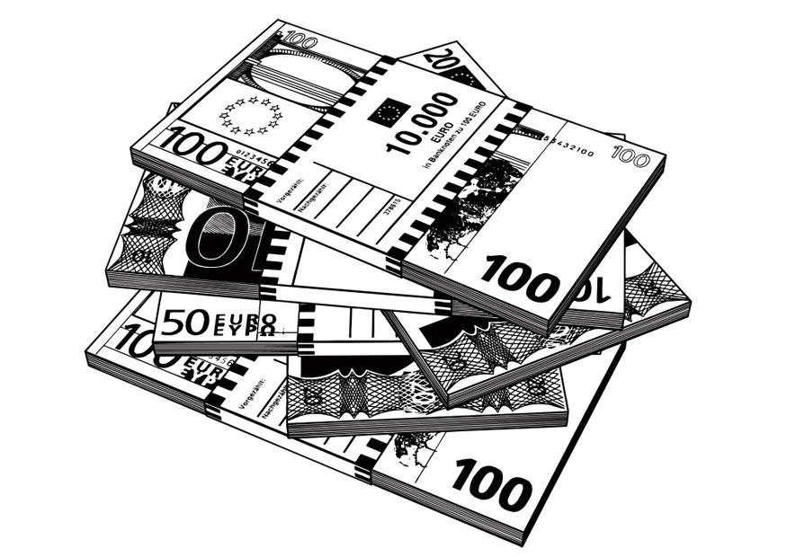 Dibujo Para Colorear Billetes Img 27370