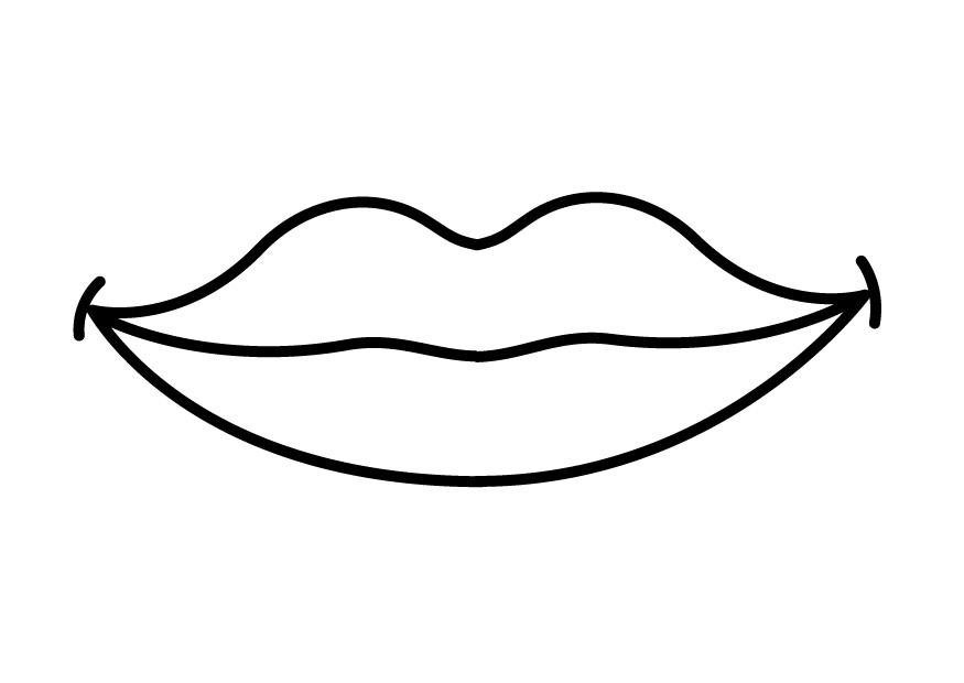 Get Free High Quality HD Wallpapers Coloring Page Lips