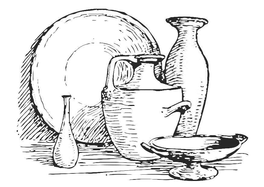 Dibujo para colorear bodeg n img 19368 - Dibujos para pintar en tejas ...