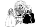 caballero y familia
