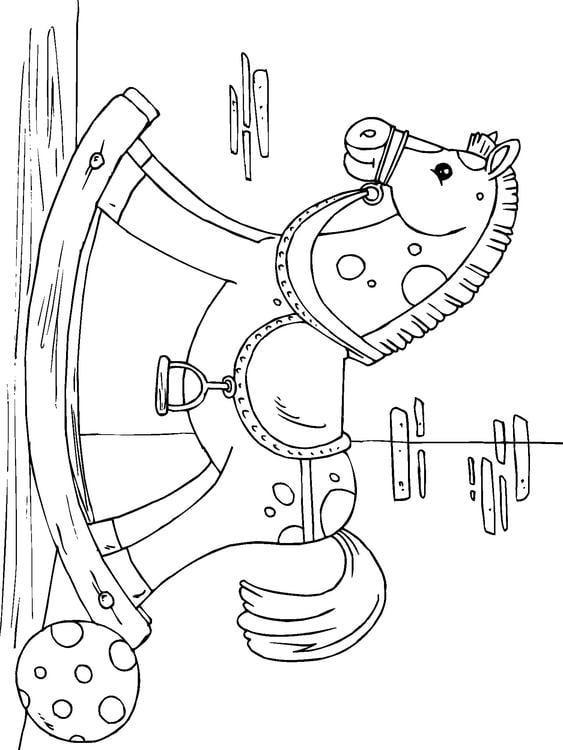 Dibujo Para Colorear Caballo Balanc 237 N Img 22825