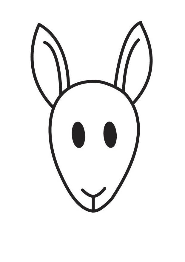 Excepcional Kangaroo Para Colorear Imprimible Motivo - Dibujos Para ...