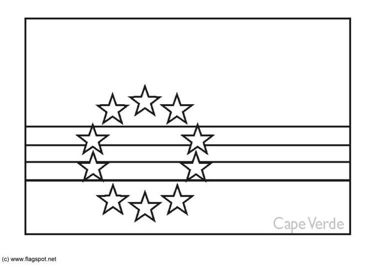 Dibujo para colorear Cabo Verde - Img 6196