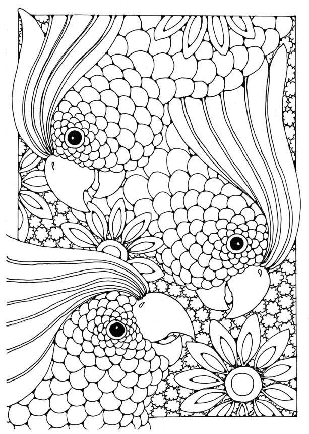 Dibujo Para Colorear Cacatúa Dibujos Para Imprimir Gratis