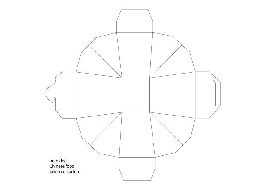 Dibujo Para Colorear Caja Para Llevar Img 26379