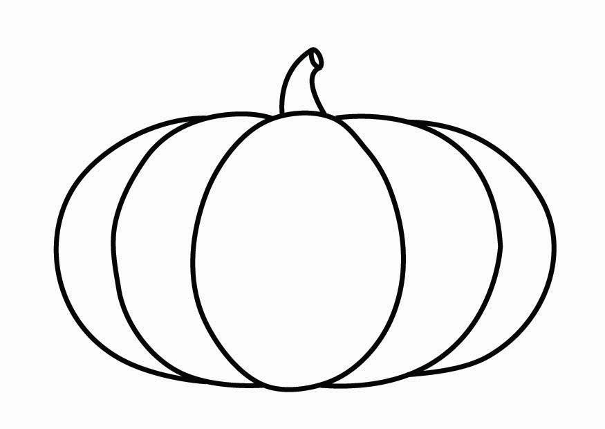 Dibujo para colorear calabaza img 26868 - Calabaza halloween para colorear ...