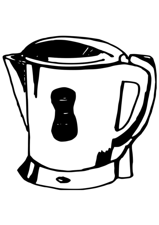 Dibujo Para Colorear Calentador De Agua Dibujos Para