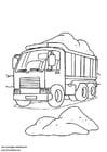 Dibujo para colorear Camión