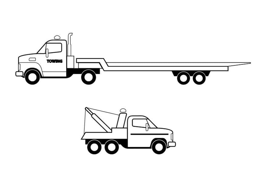 Dibujo Para Colorear Camiones Img 26293 Images