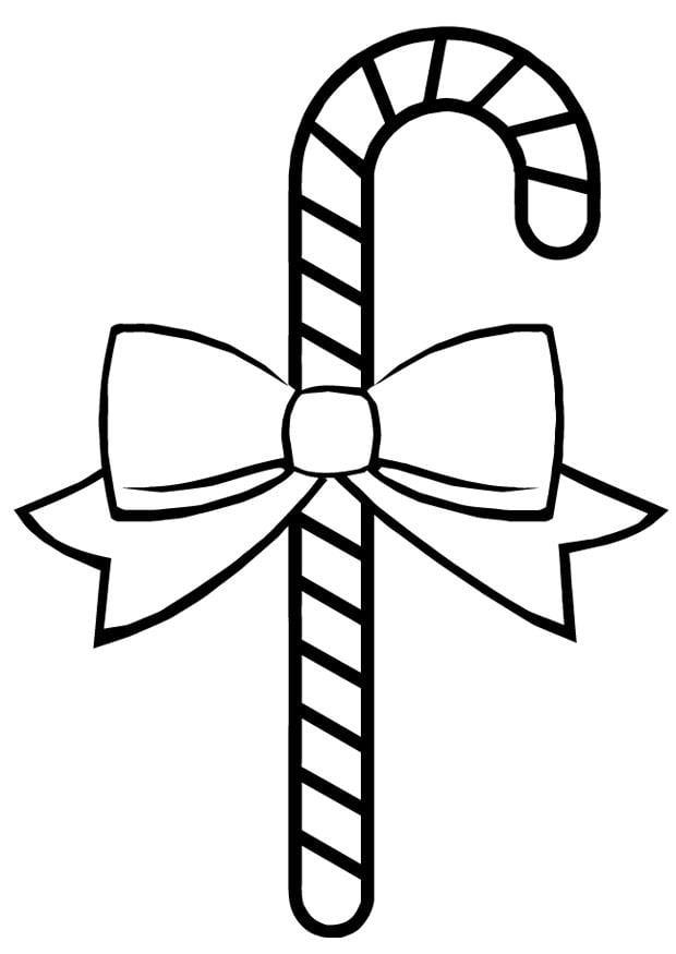 Kleurplaat Winter Kerst Dibujo Para Colorear Caramelo Img 16391