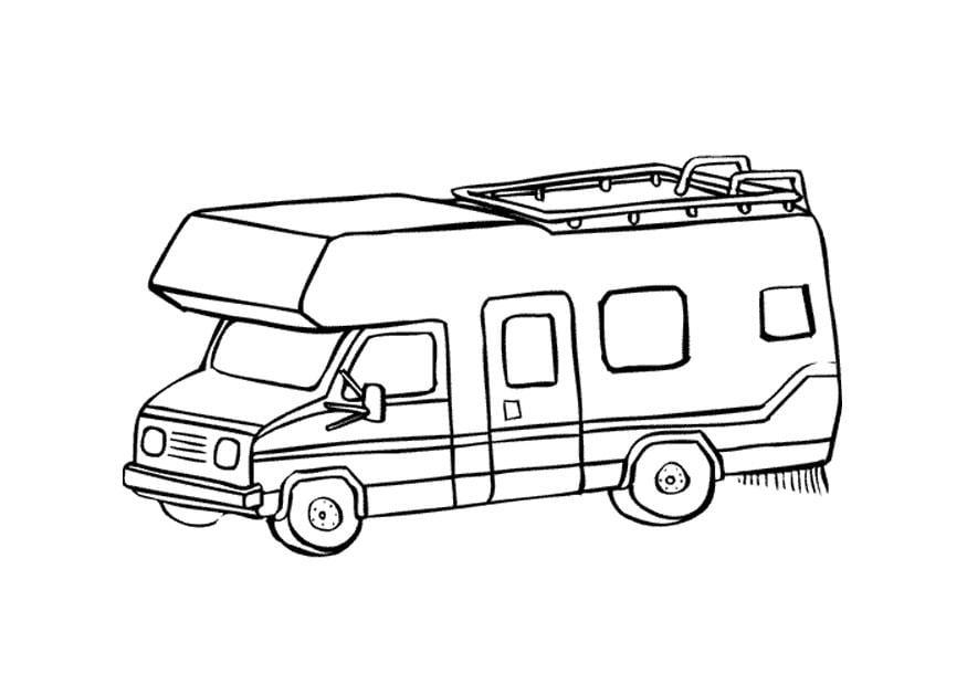 Kleurplaat Garfield In Auto Dibujo Para Colorear Caravana Img 9660 Images