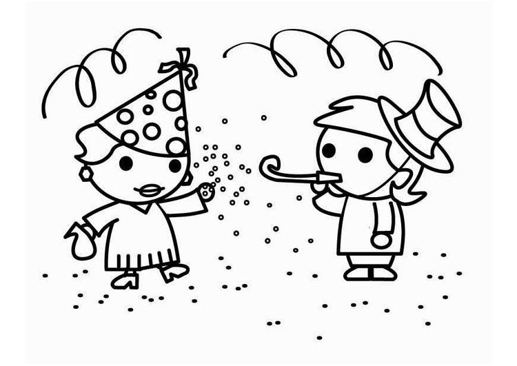 Dibujo Para Colorear Carnaval Img 26456