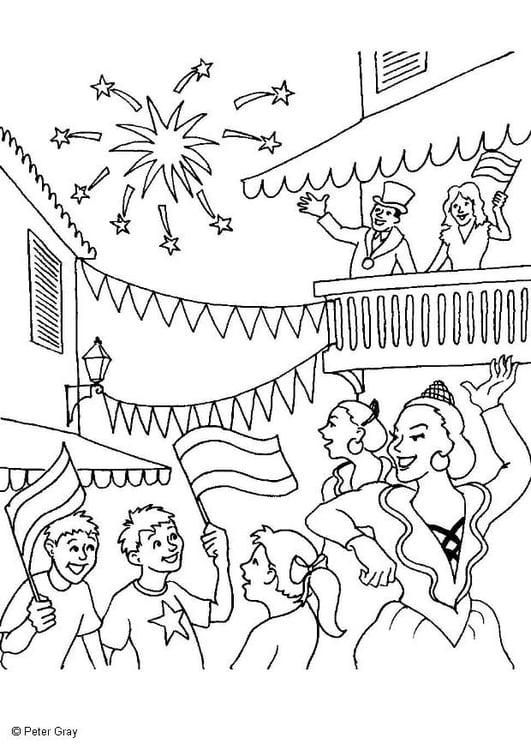Dibujo para colorear Carnaval - Img 6922