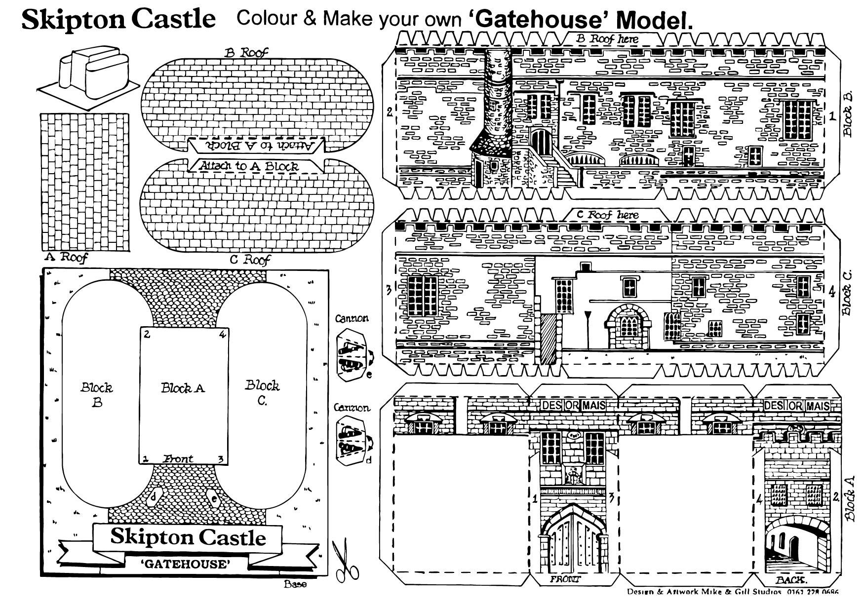 Fantástico Castillo De Candyland Para Colorear Fotos - Dibujos Para ...