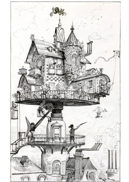 Dibujo Para Colorear Casa Del Futuro 1883 Img 14777