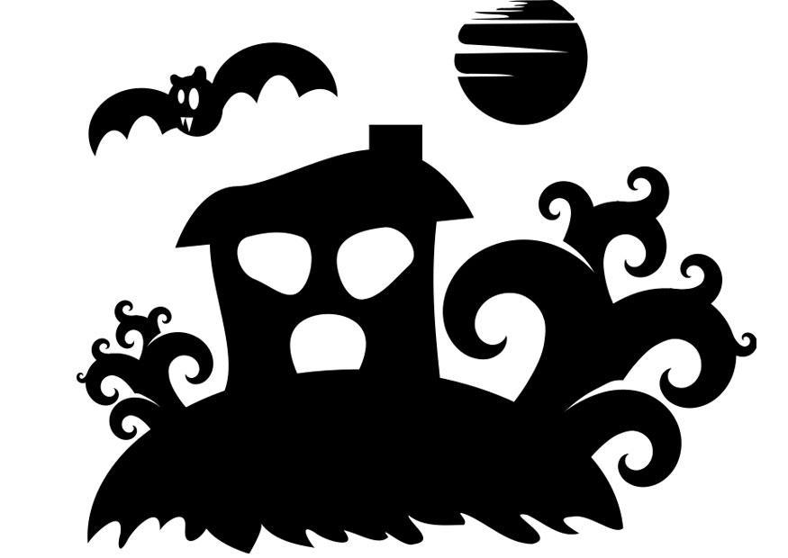 Dibujo Para Colorear Casa Encantada Img 22979 Images